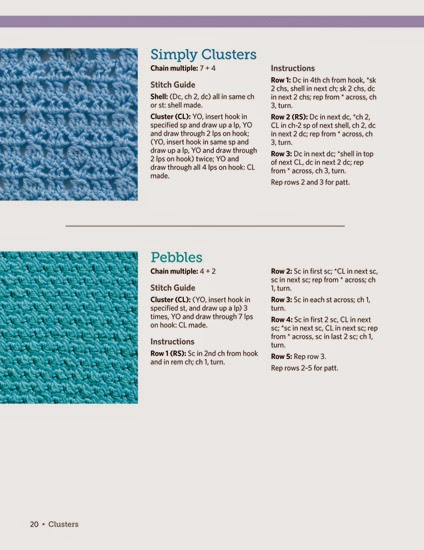 Crochet Stitches Examples : ... : The Big Book of Crochet Stitches by Jean Leinhauser and Rita Weiss