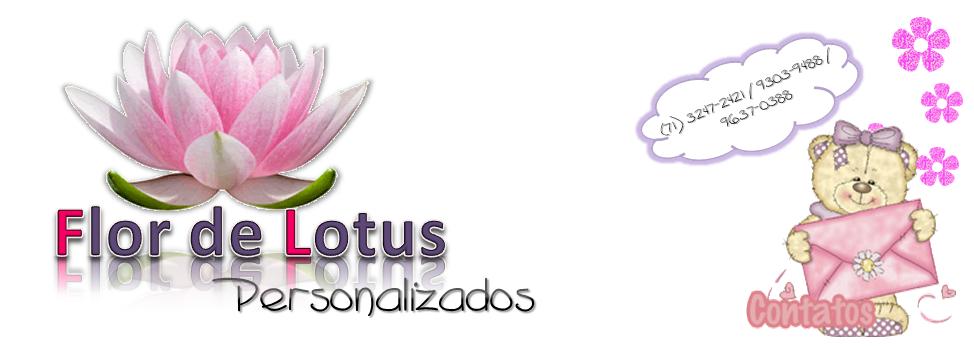 Flor de Lotus Personalizados