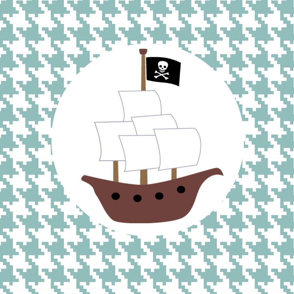 Pirate Ship Cupcakes