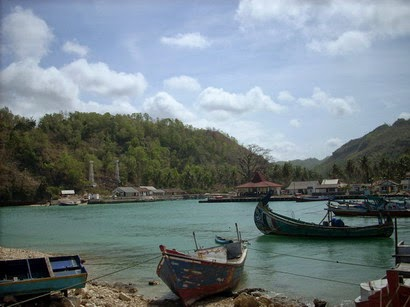 Pantai Sadeng Gunungkidul Wisata sejarah Muara sungai ...