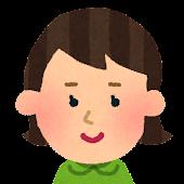 女の子の顔アイコン 3
