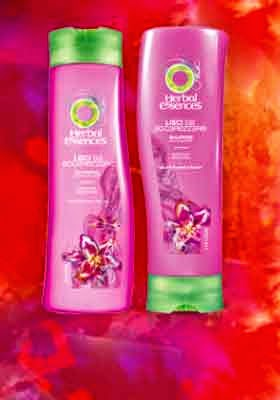 shampoo e balsamo herbal essence