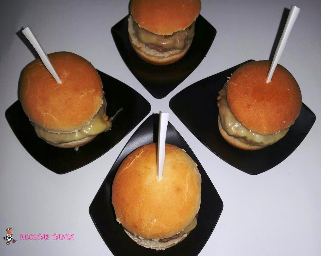 Minis Hamburguesas