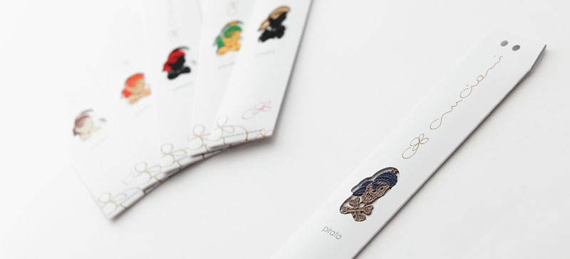 packaging braccialetti cruciani pirata