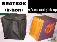 BEATBOX / CAJON WITH PICKUP AND BAG