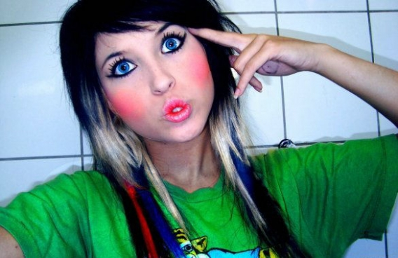Emo Hairstyles For Girls 2010@2