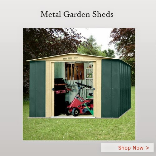 Metal Garden Sheds - Homegenies