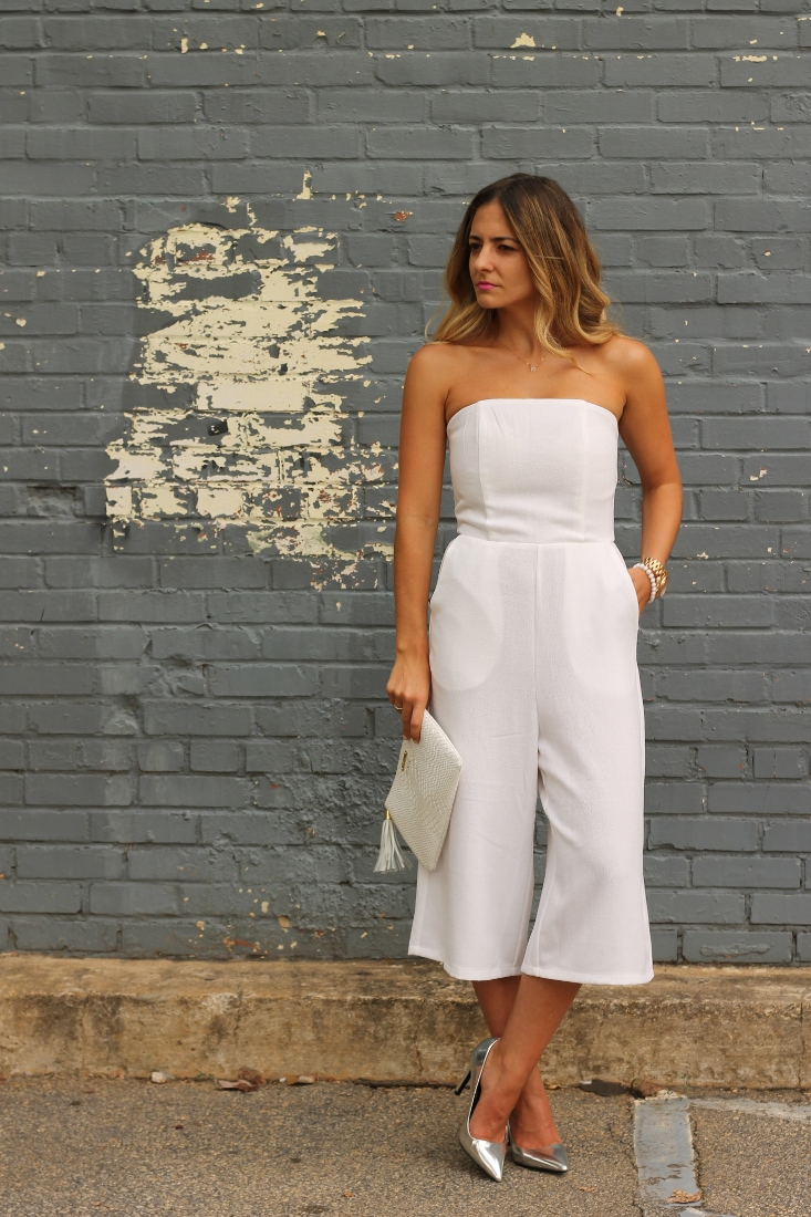 Monochromatic White Outfit