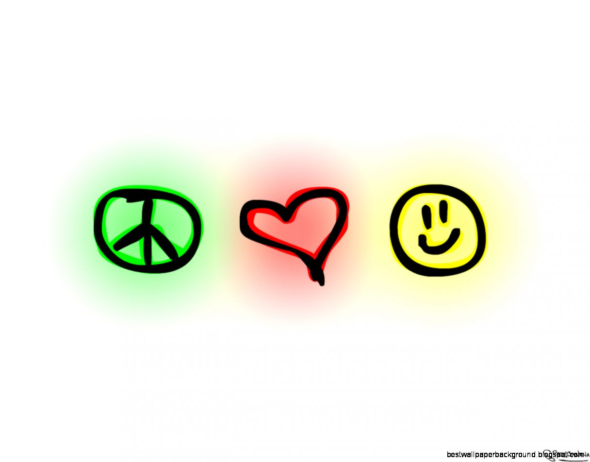 Love Peace Happiness Best Wallpaper Background