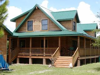 Desain Rumah Kayu Modern Yang Antik 2