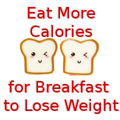 Eat More Calories for Breakfast to Lose Weight