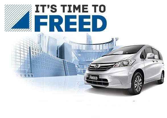 Promo New HONDA FREED