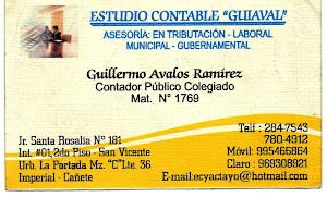 """ESTUDIO CONTABLE """"GUIAVAL"""""""