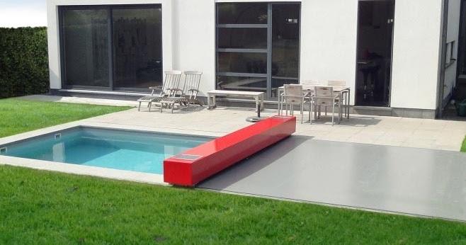 A minha alegre casinha cobertura de piscinas motorizada - Piscinas desmontables rigidas ...