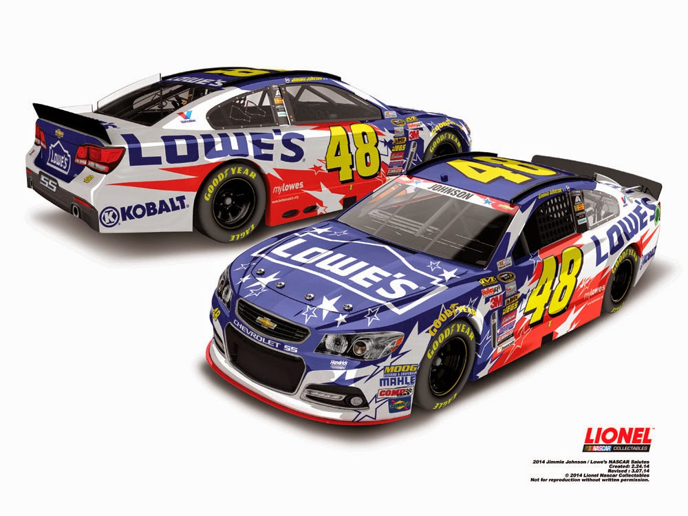 paint scheme preview 2014 nascar sprint cup series all star race