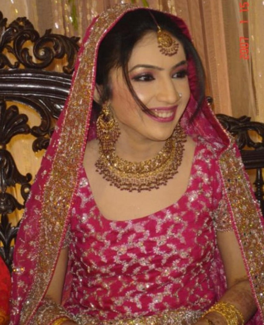 Pakistani Bridal Walima Makeup3 pakistani sexy hot women