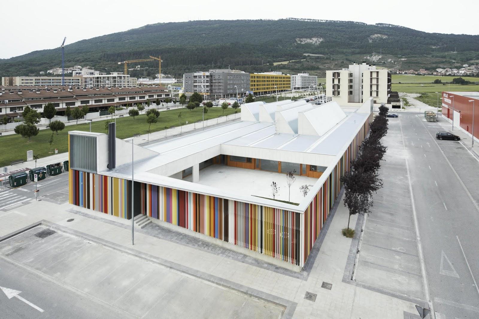 Arquitectura zona cero h gase la luz escuela infantil - Arquitectos navarra ...