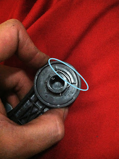 Kia Rio Manual Window Handle Crank Removal