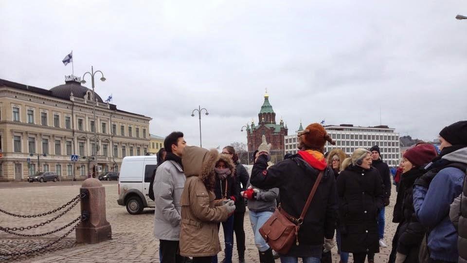 Free guided walking tour