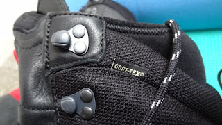 Gore Tex Label in Mammut Boots