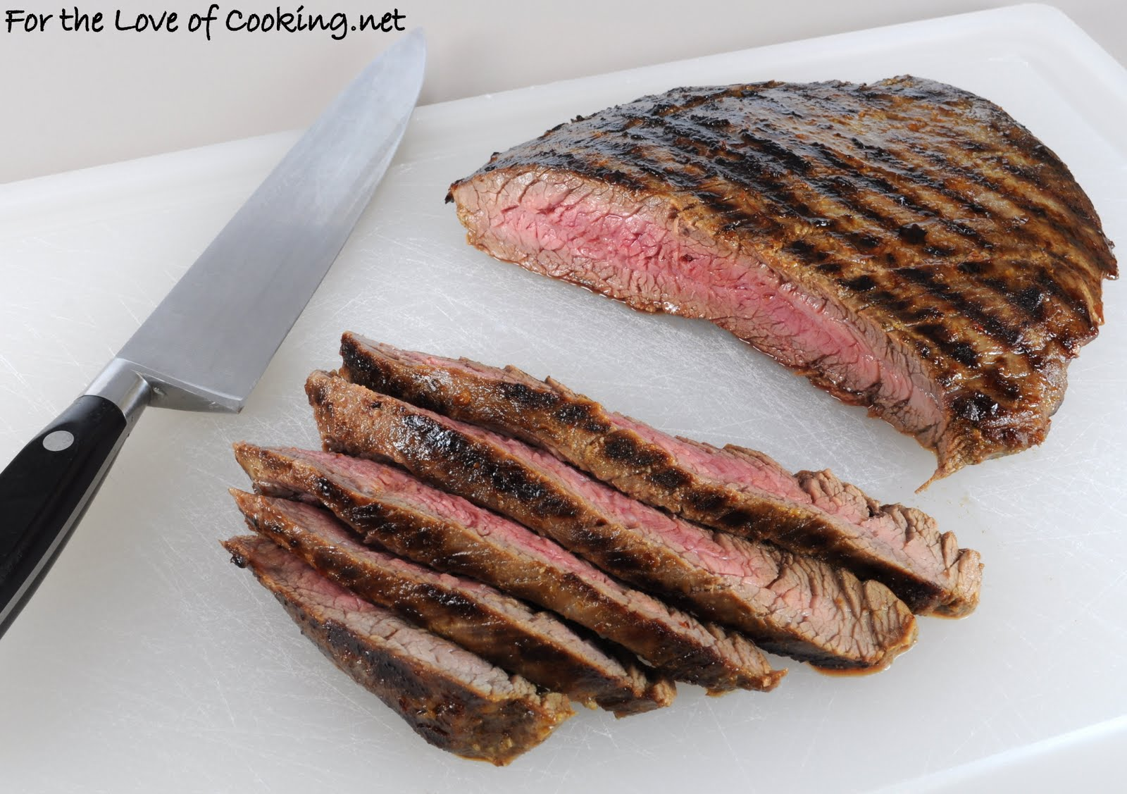Soy Garlic Flank Steak | For the Love of Cooking