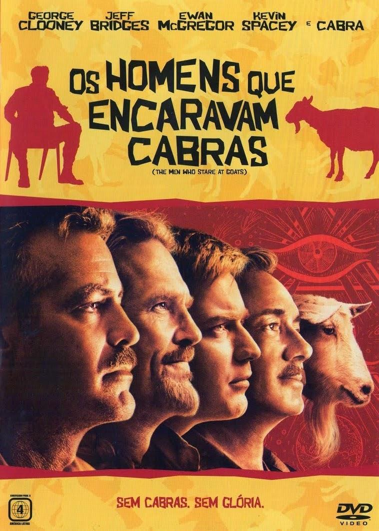 Os Homens Que Encaravam Cabras – Dublado (2009)