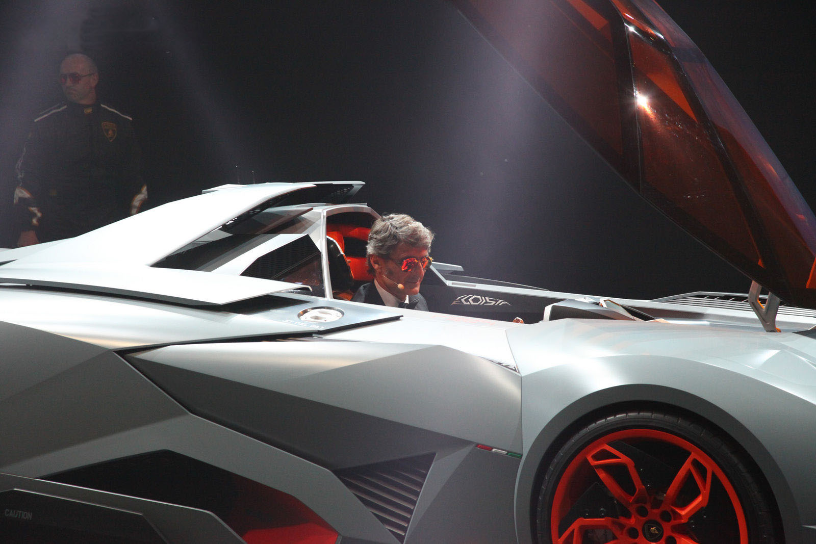 car on Lamborghini Egoista 2013