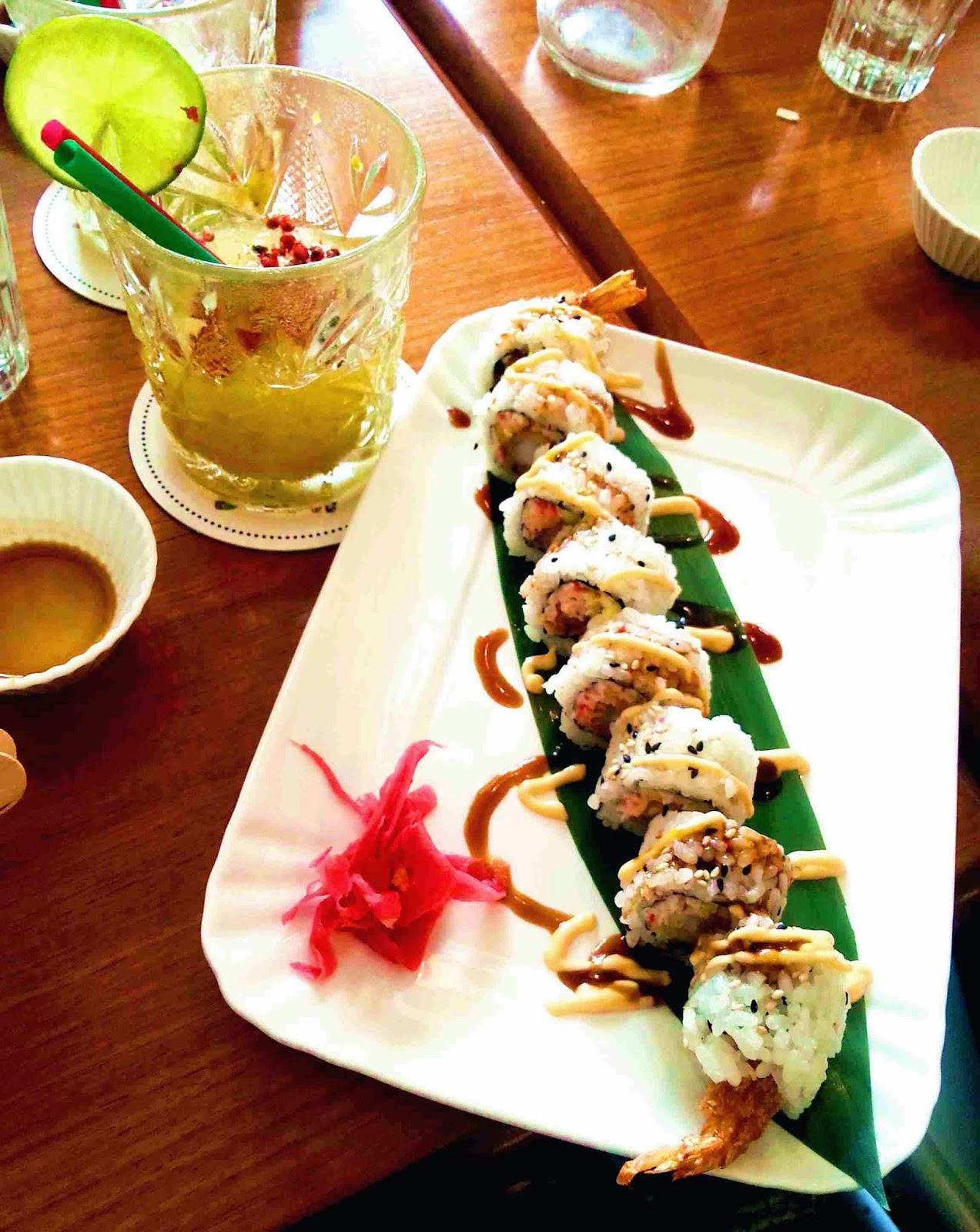 Sabato scorso con il mio fidanzato e alcuni amici ho deciso di andare al ristorante Temakinho che fa un mix di cucina giapponese e brasiliana