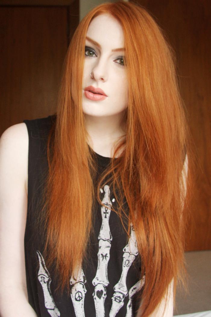 Baño De Color Rojo Loreal:Dark Blonde Hair Color