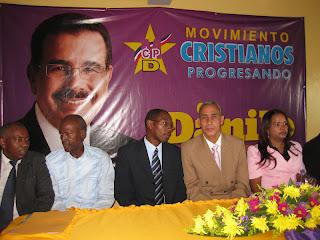 Movimiento Cristianos en Progreso asegura Danilo hará un buen gobierno para todos