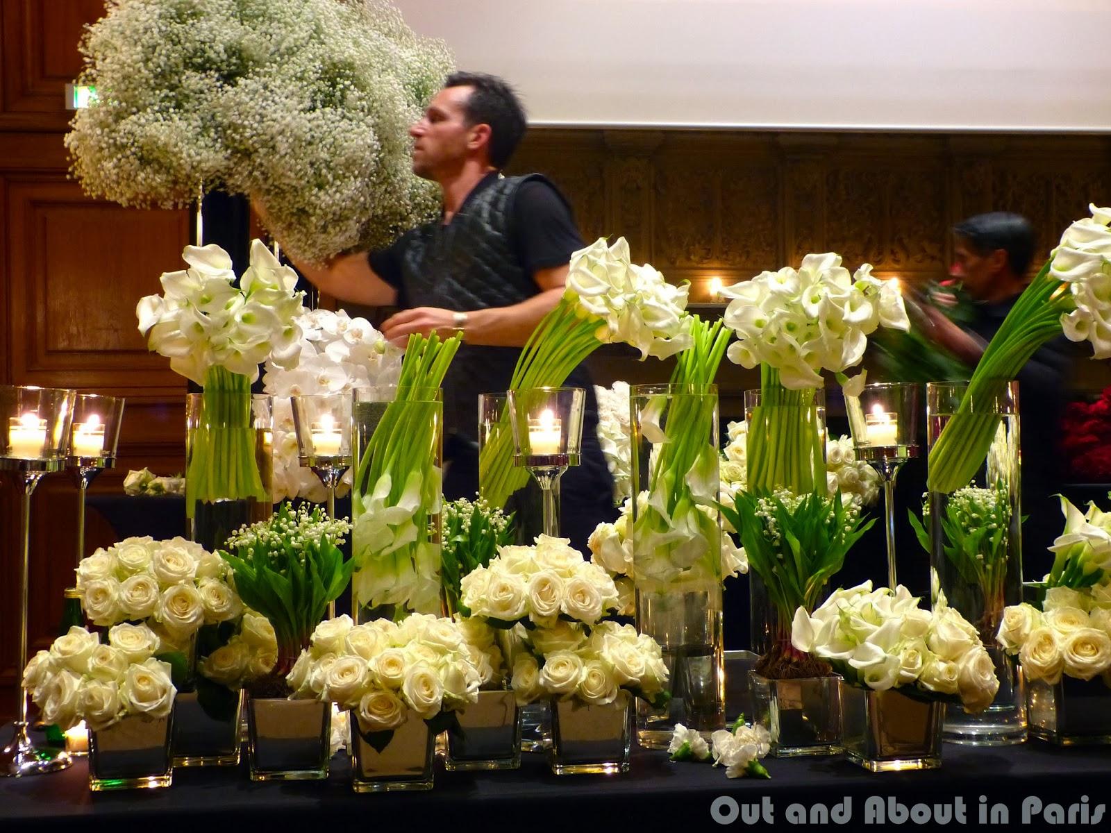 an exclusive parisian experience a floral arrangement. Black Bedroom Furniture Sets. Home Design Ideas