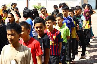Perkhemahan Bersepadu Unit Beruniform Kadet Pertahanan Awam KAPA SMK Luar Bandar No.1 Sibu