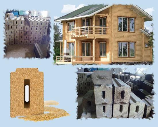Композитный брус для строительства дома