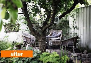 Om min trädgård på andra sidor