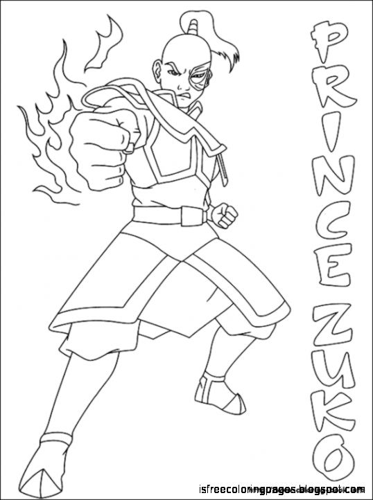 Avatar, The Last Airbender Coloring Pages | Free Coloring Pages
