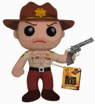 Peluche Rick Grimes Walking Dead 13,95€