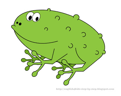 funny cartoon frog clip art for classroom