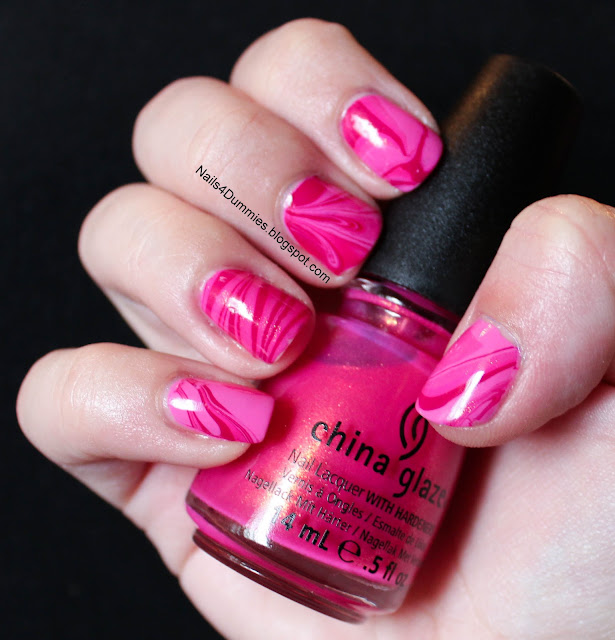 Polish Us Pink Breast Cancer Awareness Watermarble