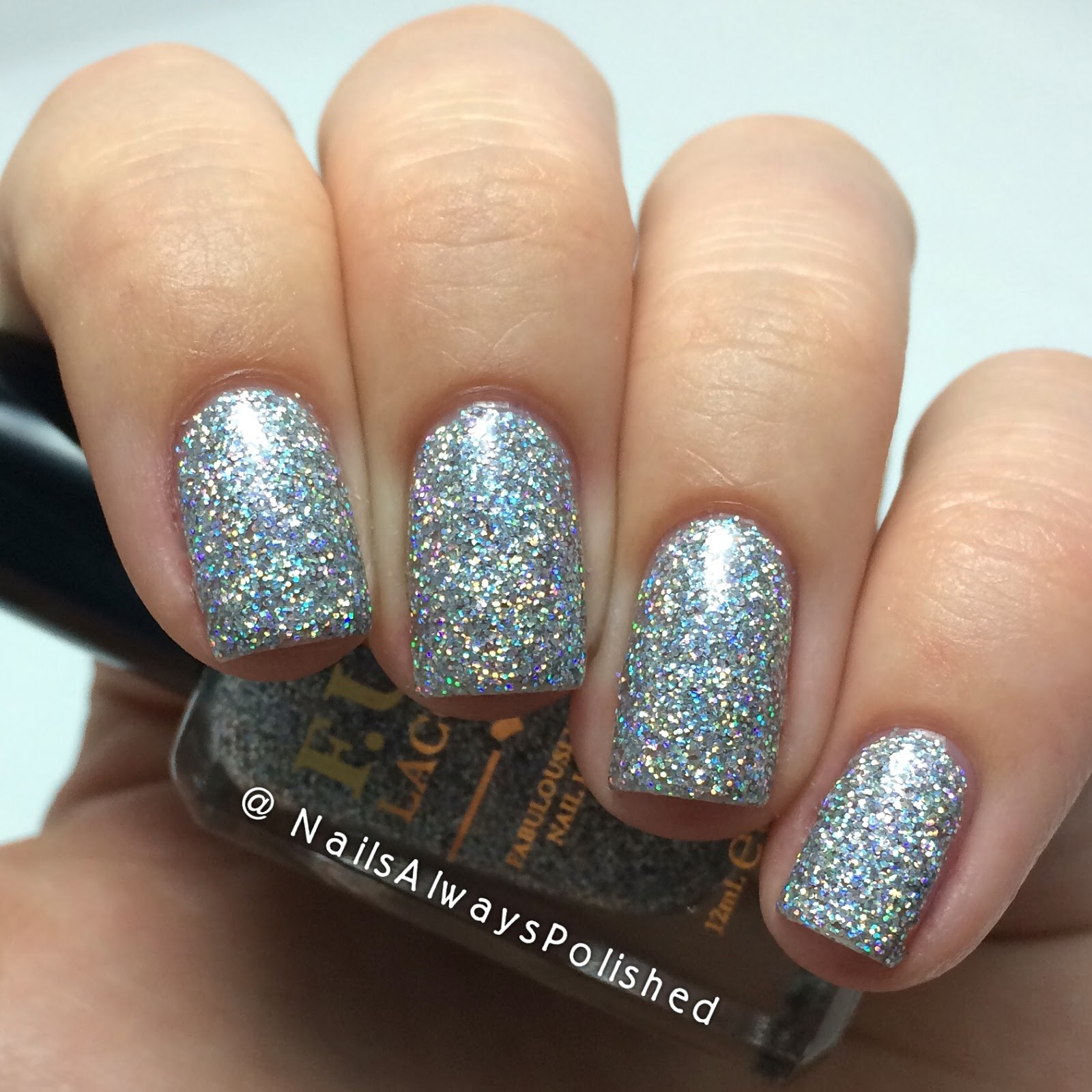 Nails Always Polished: F.U.N Lacquer 24 Karat Diamond