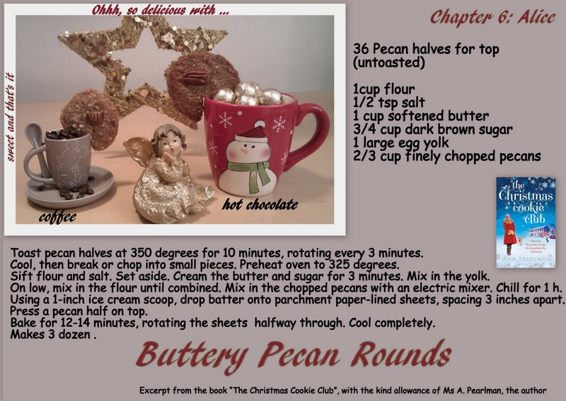 Sweet and That's it: Buttery Pecan Rounds - Biscotti ...