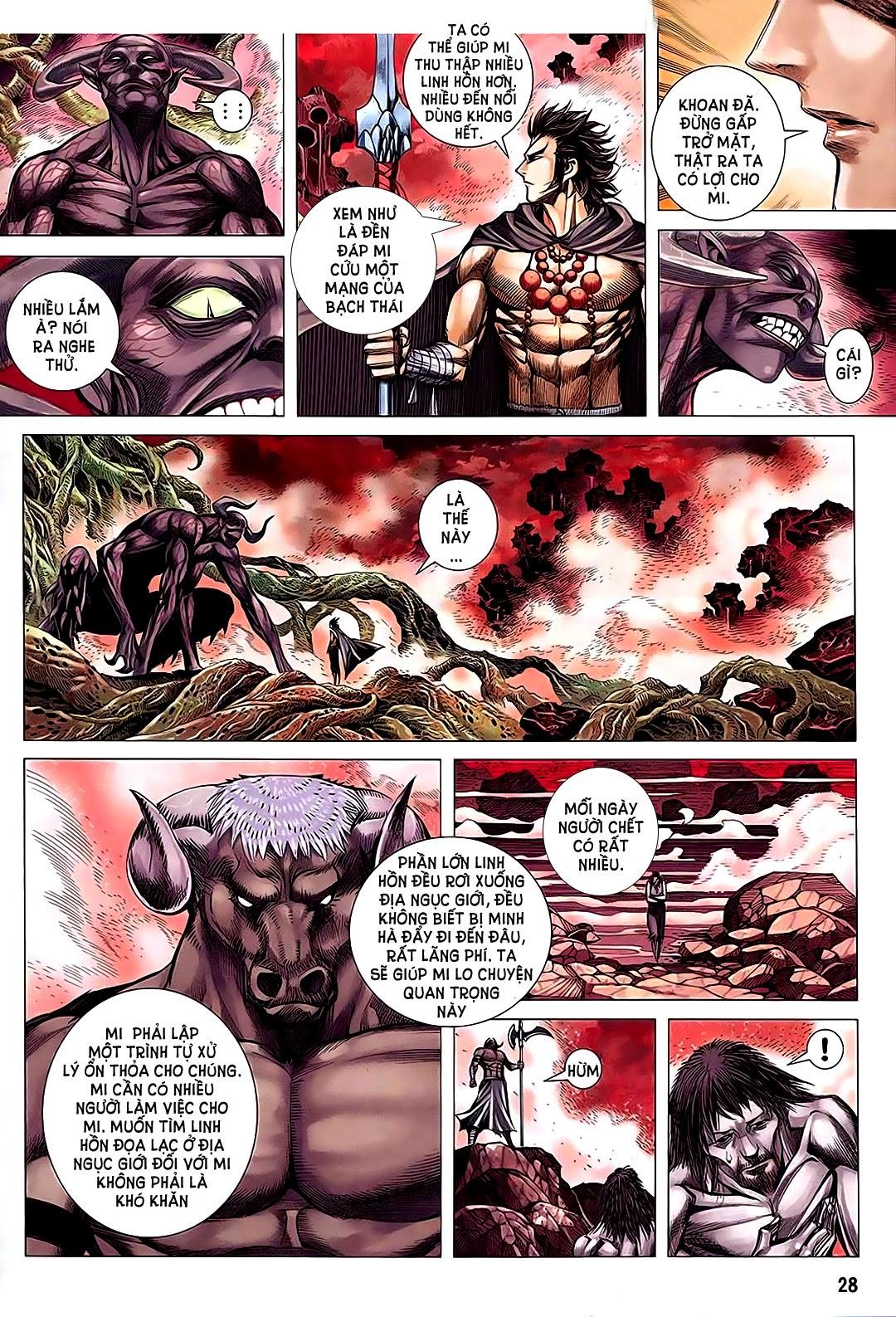 Phong Thần Ký chap 182 – End Trang 28 - Mangak.info