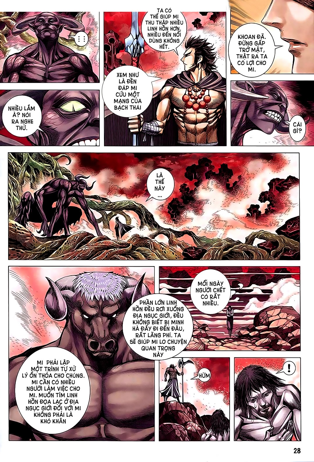 Phong Thần Ký Chap 182 - Trang 28
