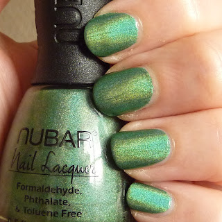 Nubar Nail Polish in Reclaim