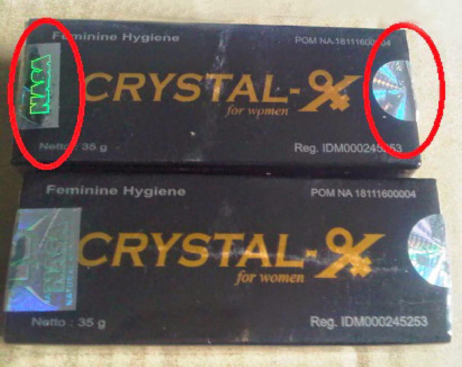 Jual crystal x asli
