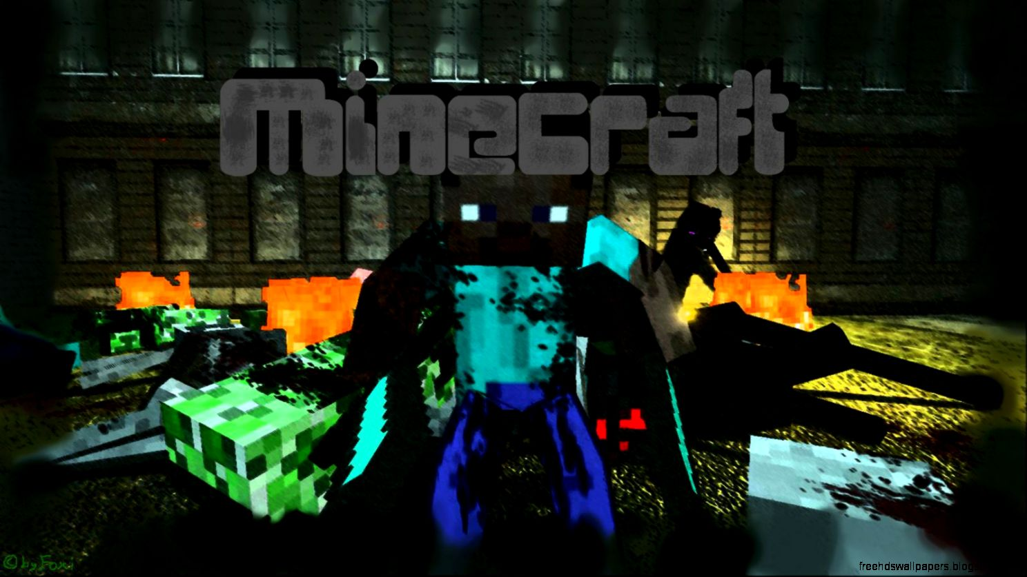 Desktop Wallpapers Minecraft   Wallpaper Cave