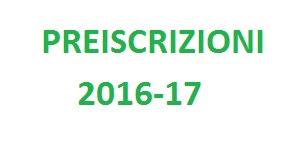 Preiscrizioni 2016-2017