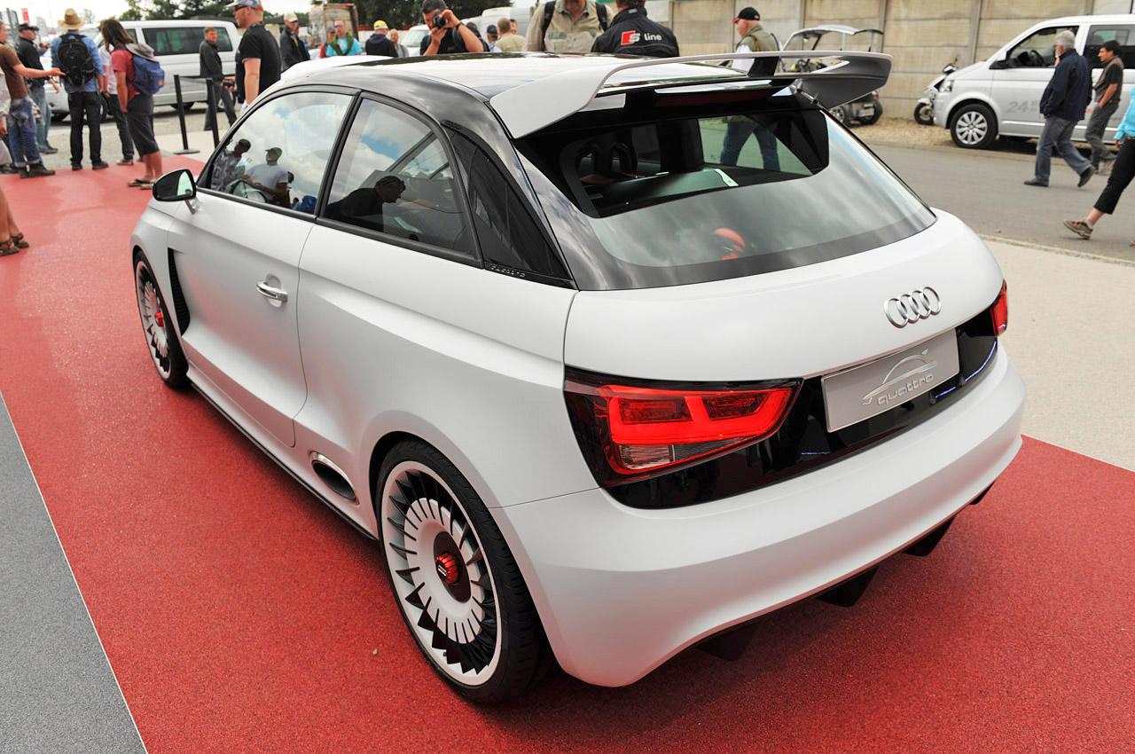 fab wheels digest (f.w.d.): 2011 audi a1 clubsport quattro concept
