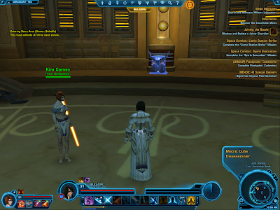 SWTOR - Matrix Cube Disassembler