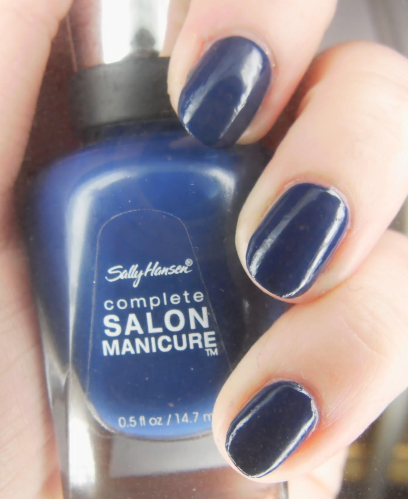 SpecialGirl Nails: Seven Days of Sally Hansen: Thinking of Blue