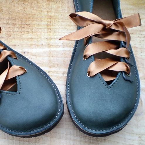 i handmade quince handmade leather shoes by fairysteps